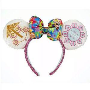Disney Accessories - 💗Disney It's A Small World Mickey Minnie Ears NEW